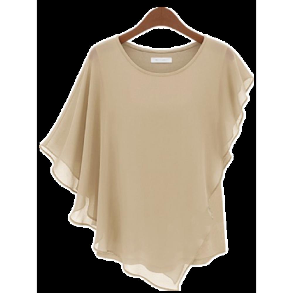 Как сшить многослойную блузку 29